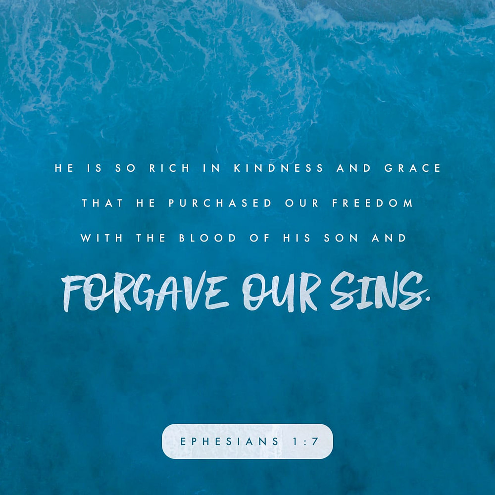 Bible verse Ephesians 1:7